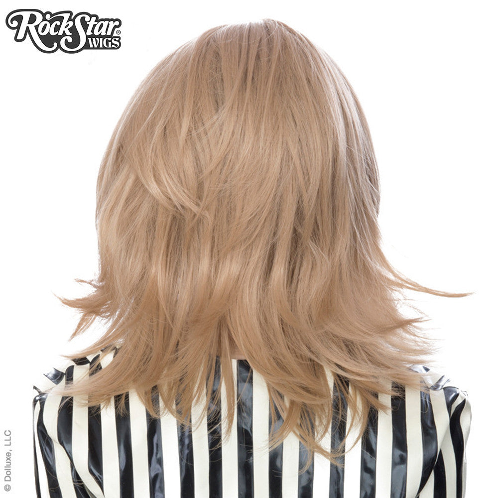 Cosplay Wigs USA™ <br> Boy Cut Shag - Light Brown -00293