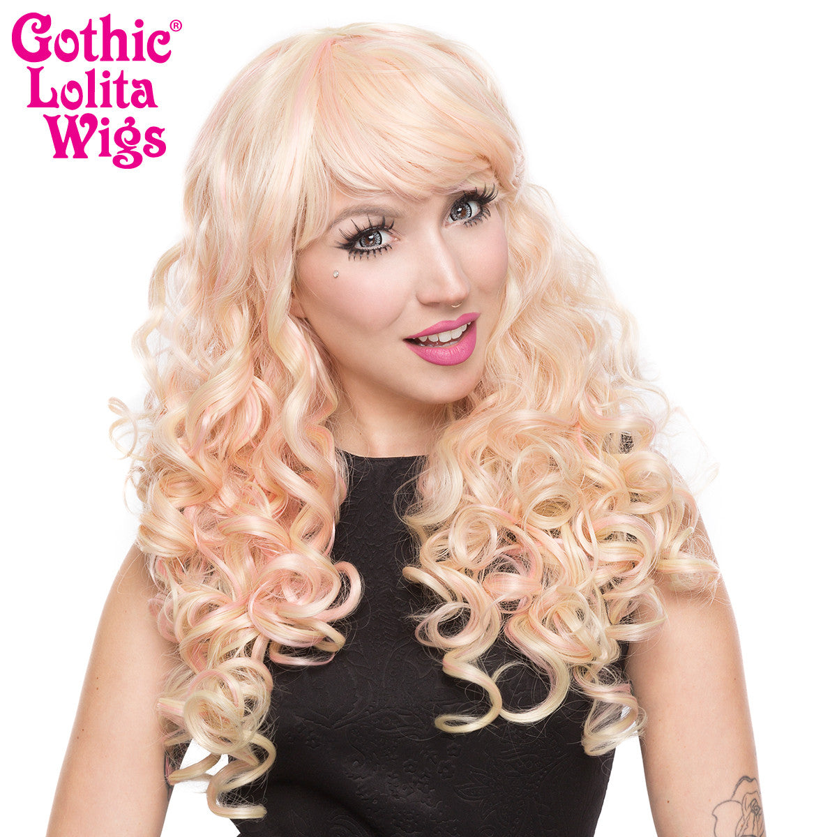 Gothic Lolita Wigs® <br> Baby Dollight™ Collection - Strawberries & Cream -00015