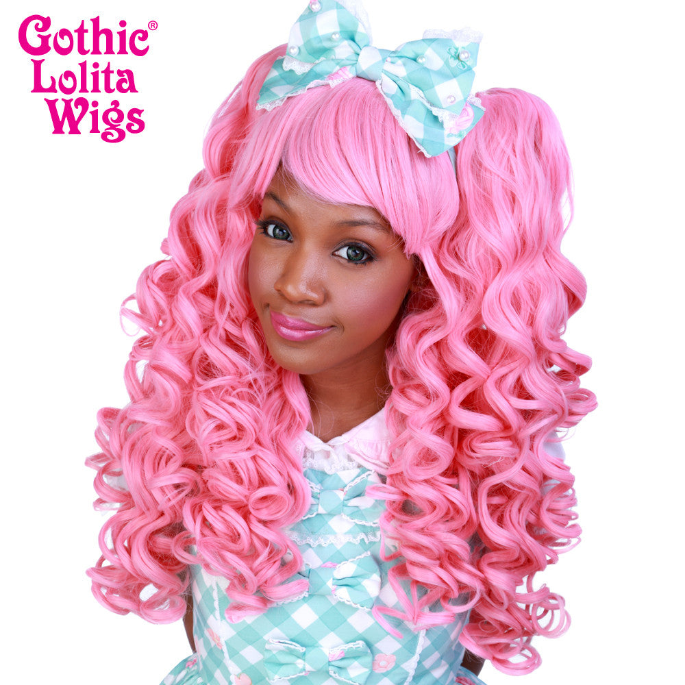 Gothic Lolita Wigs® <br> Baby Dollight™ Collection - Bubble Gum Pink - 00008