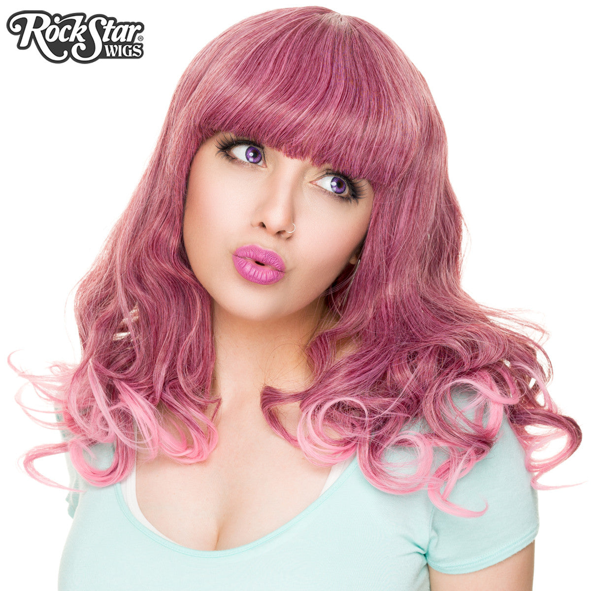 RockStar Wigs® <br> Bang Bang™ Collection - Rose Fade - 00818