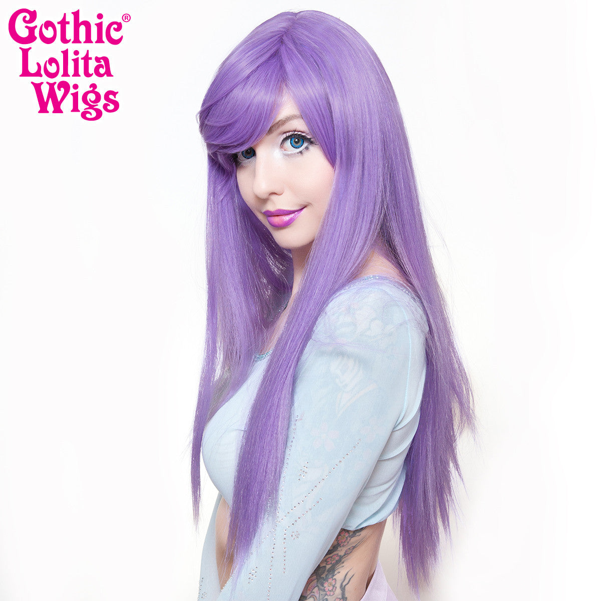 Gothic Lolita Wigs® <br> Bella™ Collection - Lavender Mix -00681