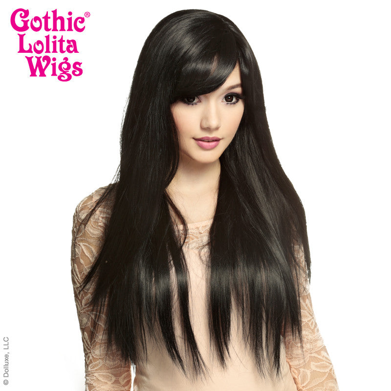 Gothic Lolita Wigs® <br> Bella™ Collection - Black -00427
