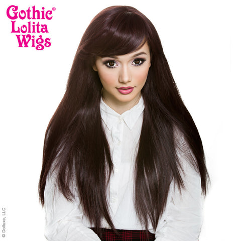 Gothic Lolita Wigs® <br> Bella™ Collection - Black Mahogany Burgundy mix -00426