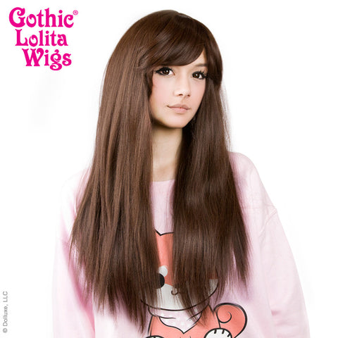 Gothic Lolita Wigs® <br> Bella™ Collection - Chocolate Brown Mix -00425