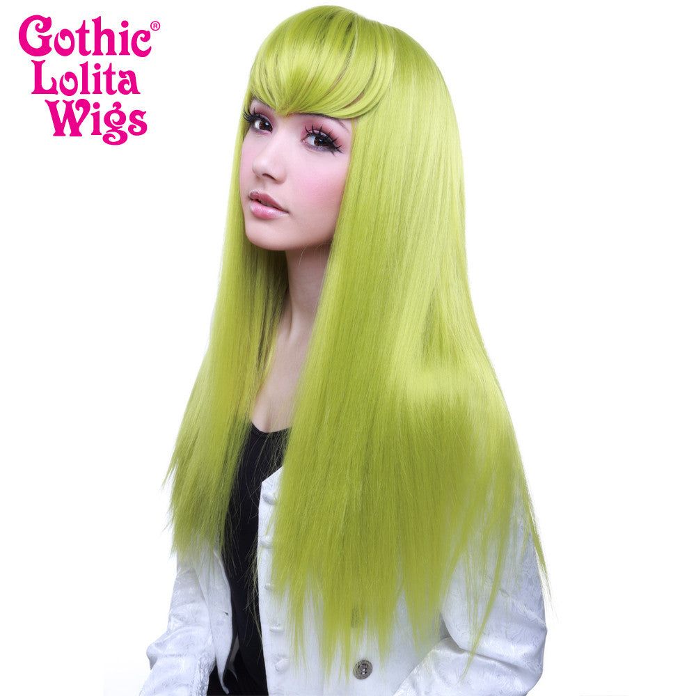 Gothic Lolita Wigs® <br> Bella™ Collection - Lime Green (Chartreuse) - 00605