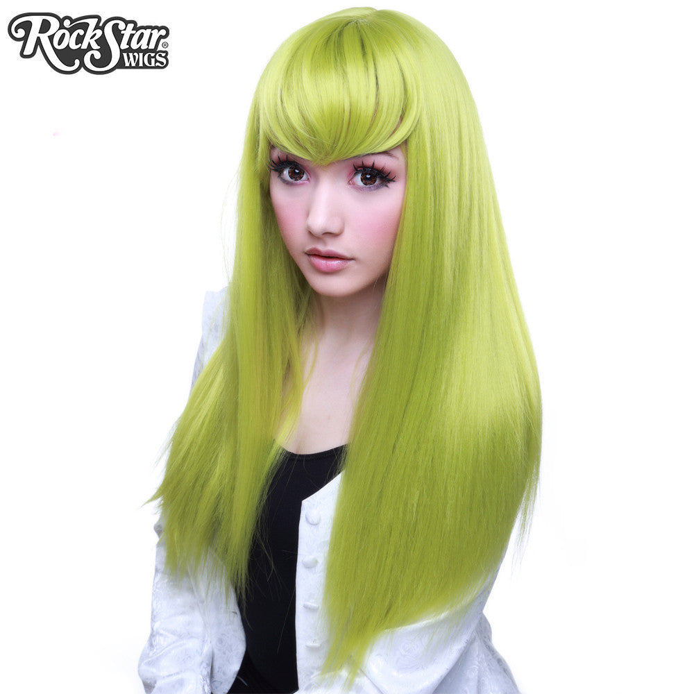 Cosplay Wigs USA® Inspired By Character C.C.From Code Geass- Lime Green (Chartreuse) -00605
