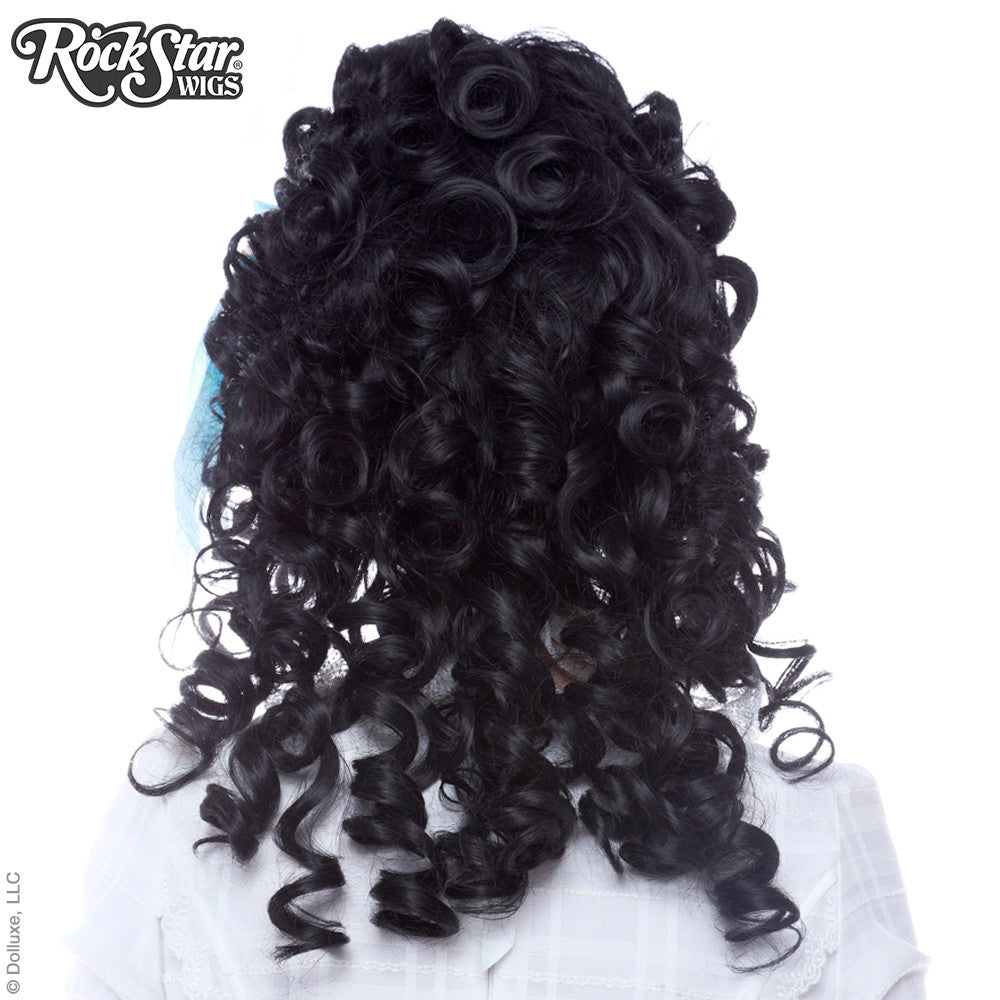 RockStar Wigs® <br> Marie Antoinette Collection - Black Lace -00193