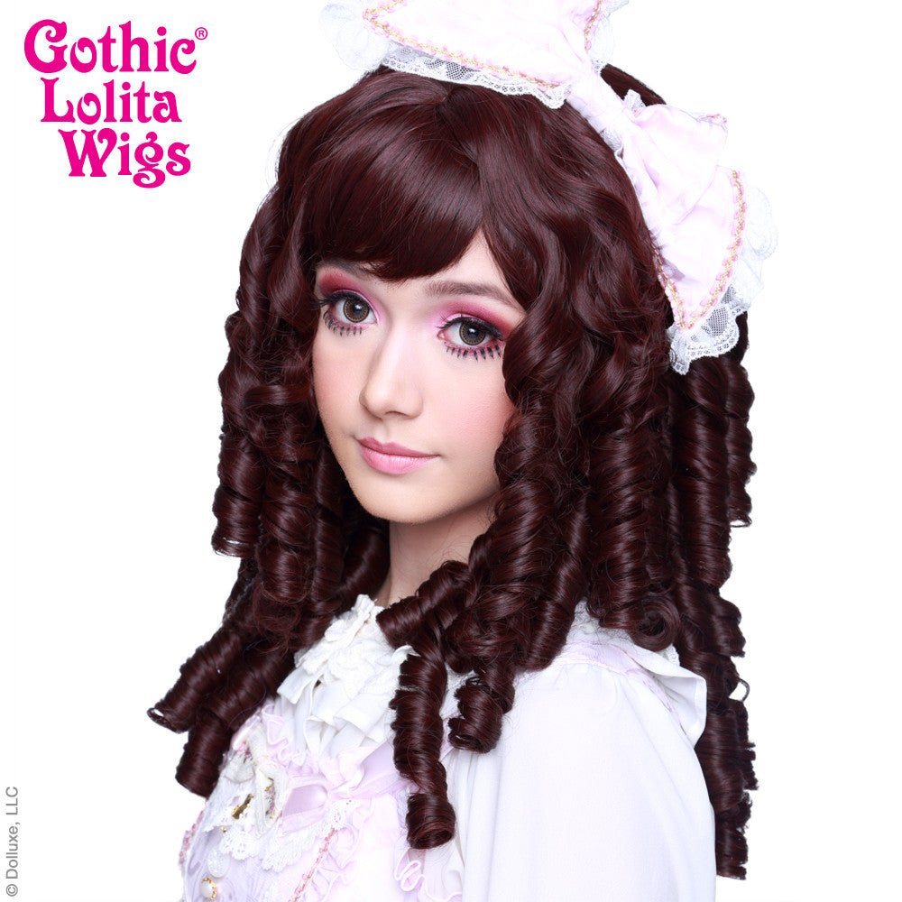 Gothic Lolita Wigs 174 Ringlet Redux Collection Black