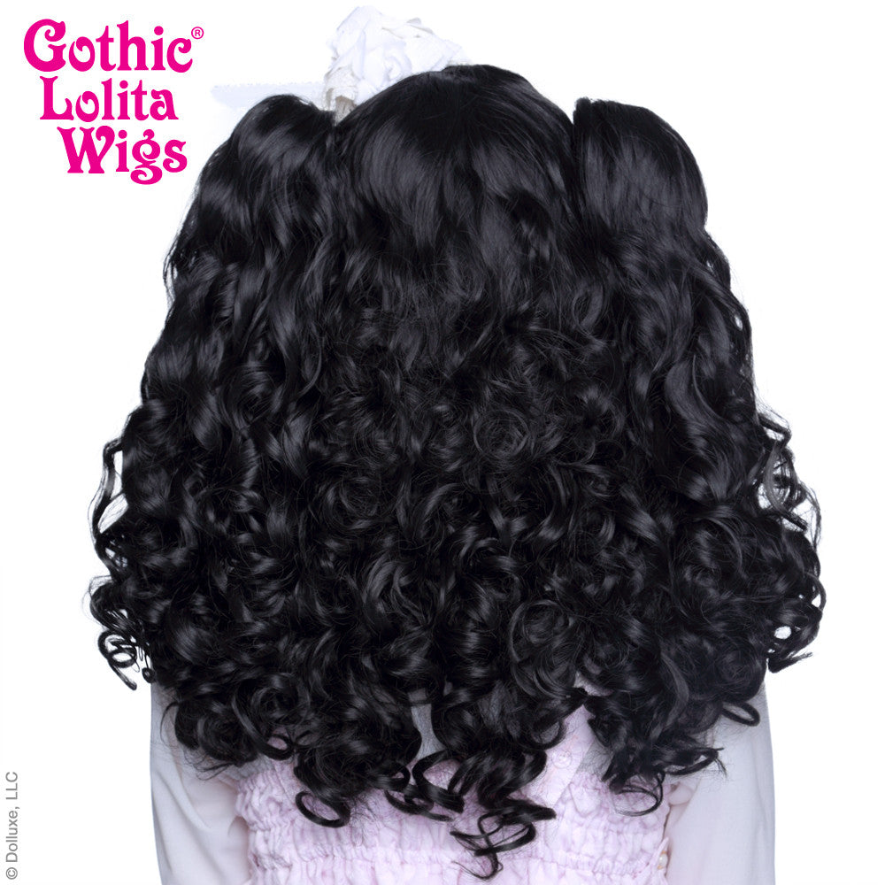 Gothic Lolita Wigs® <br> Baby Dollight™ Collection -Black Mix - 00004
