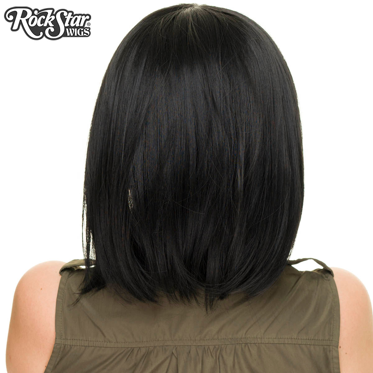 New Cosplay - Straight Bob - Black 00842