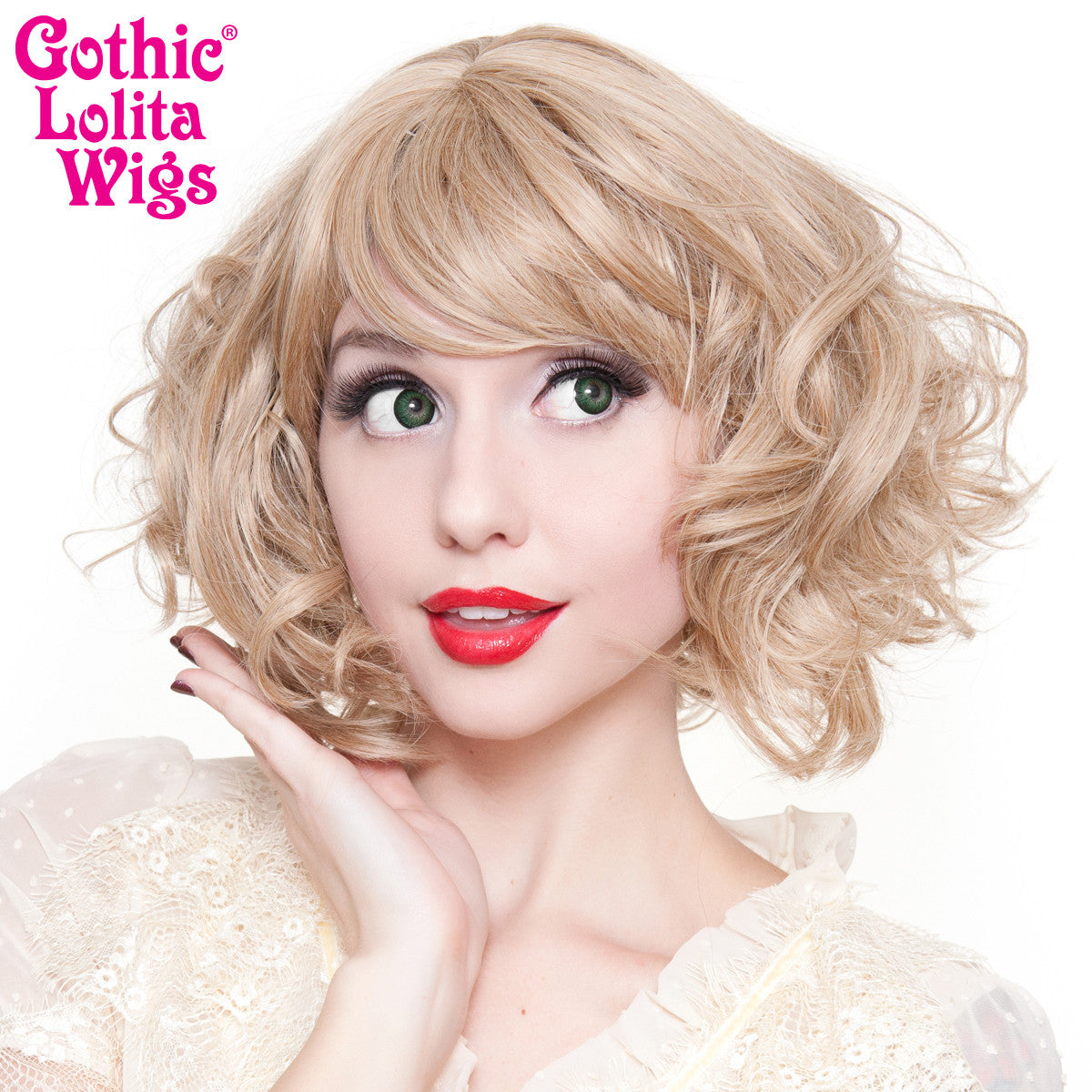 Gothic Lolita Wigs® Gamine Collection - Light Medium Blonde Mix -00405