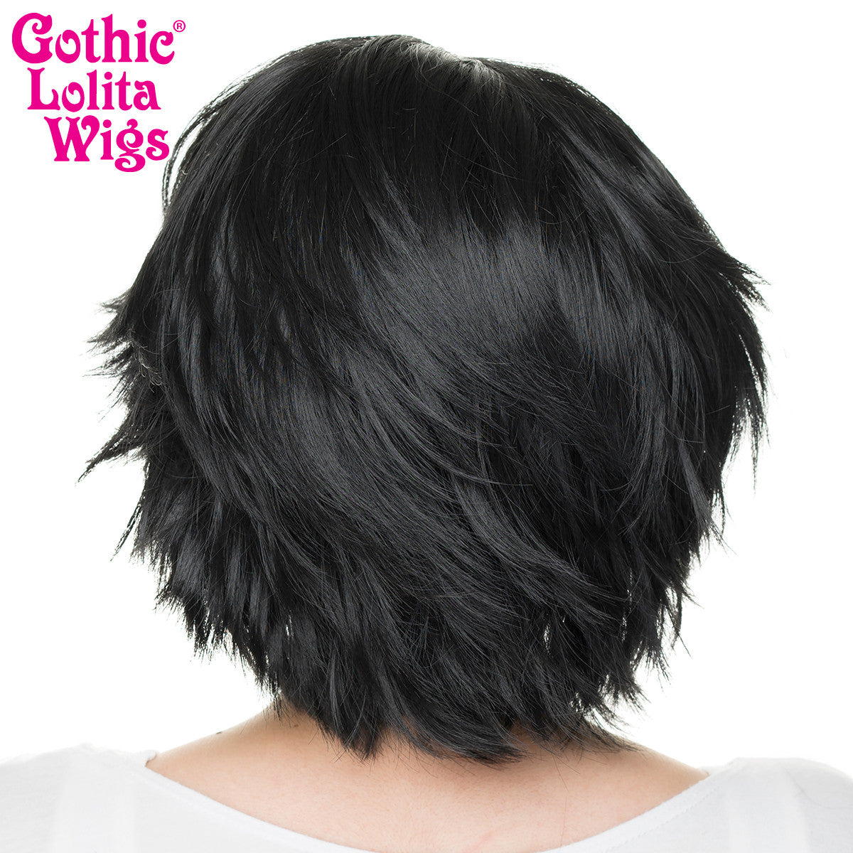 Lace Front Boy Cut- Black -00808