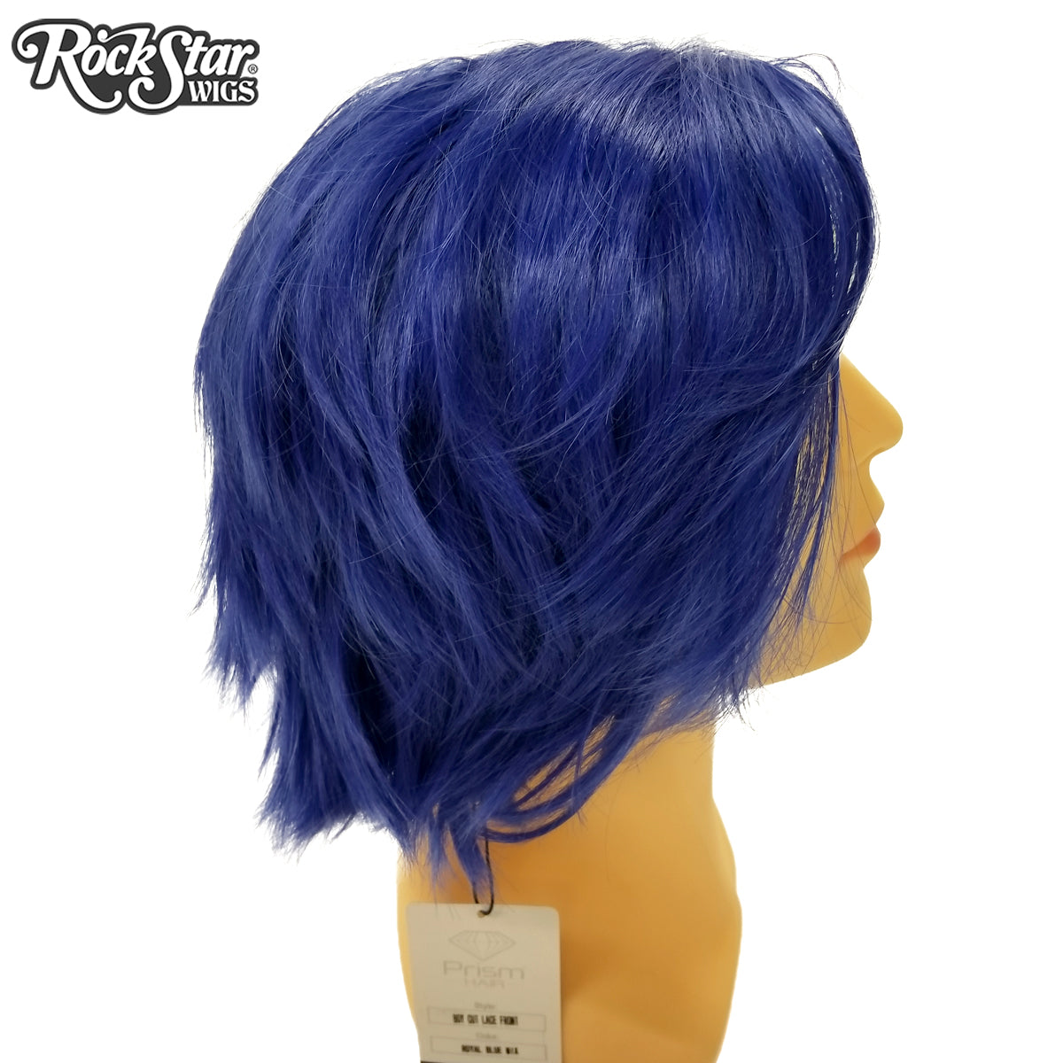 **RETIRED** Lace Front Boy Cut - Royal Blue 00804
