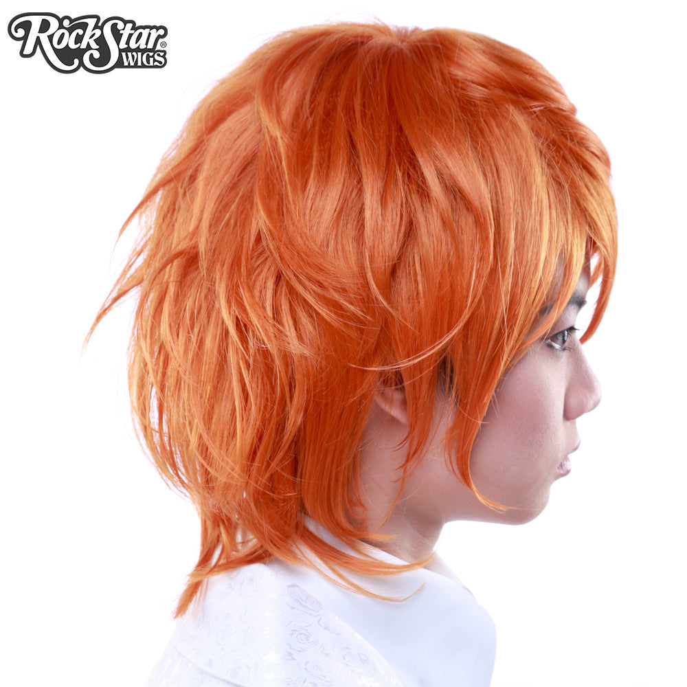 Cosplay Wigs USA™ <br> Boy Cut Long - Copper -00276