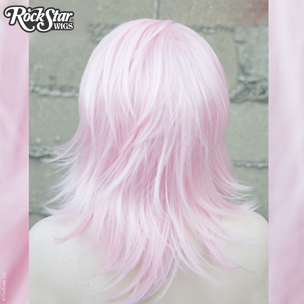 Cosplay Wigs USA™ <br> Boy Cut Shag - Light Pink -00294
