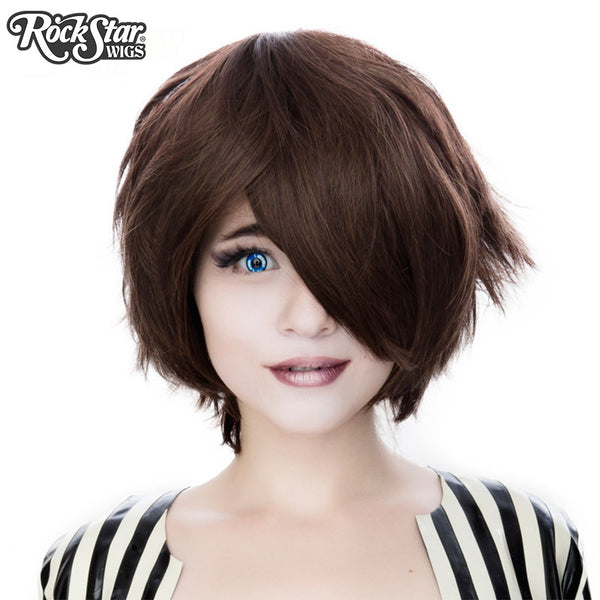 Anime Girl With Long Curly Hair: Cosplay Wigs USA™ Boy Cut Short