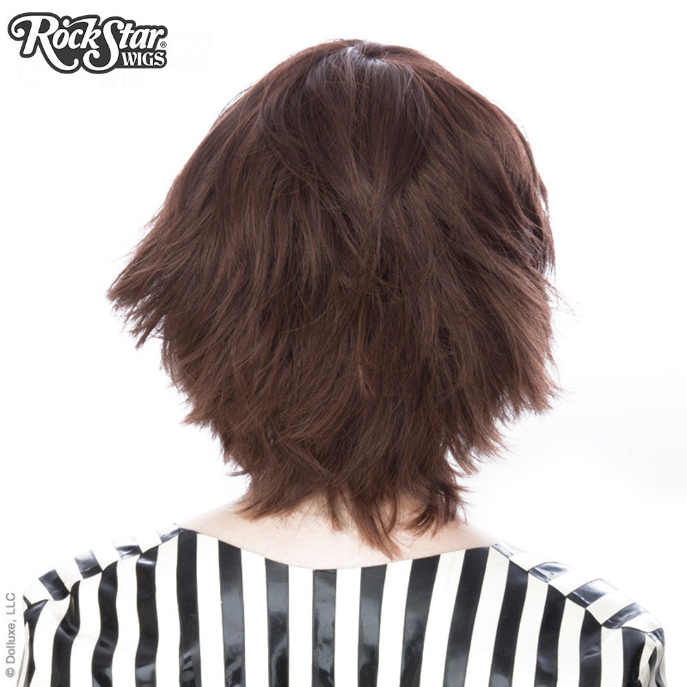 Cosplay Wigs USA™ <br> Boy Cut Short - Brown -00446