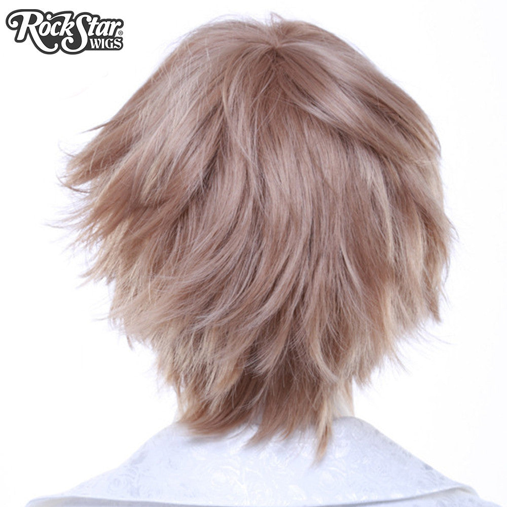 Cosplay Wigs USA™ <br> Boy Cut Short - Light Brown -00264