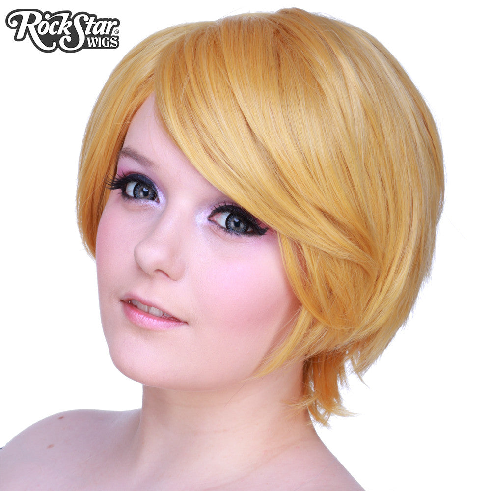 Cosplay Wigs Usa Boy Cut Short Pale Blonde 00266 Dolluxe