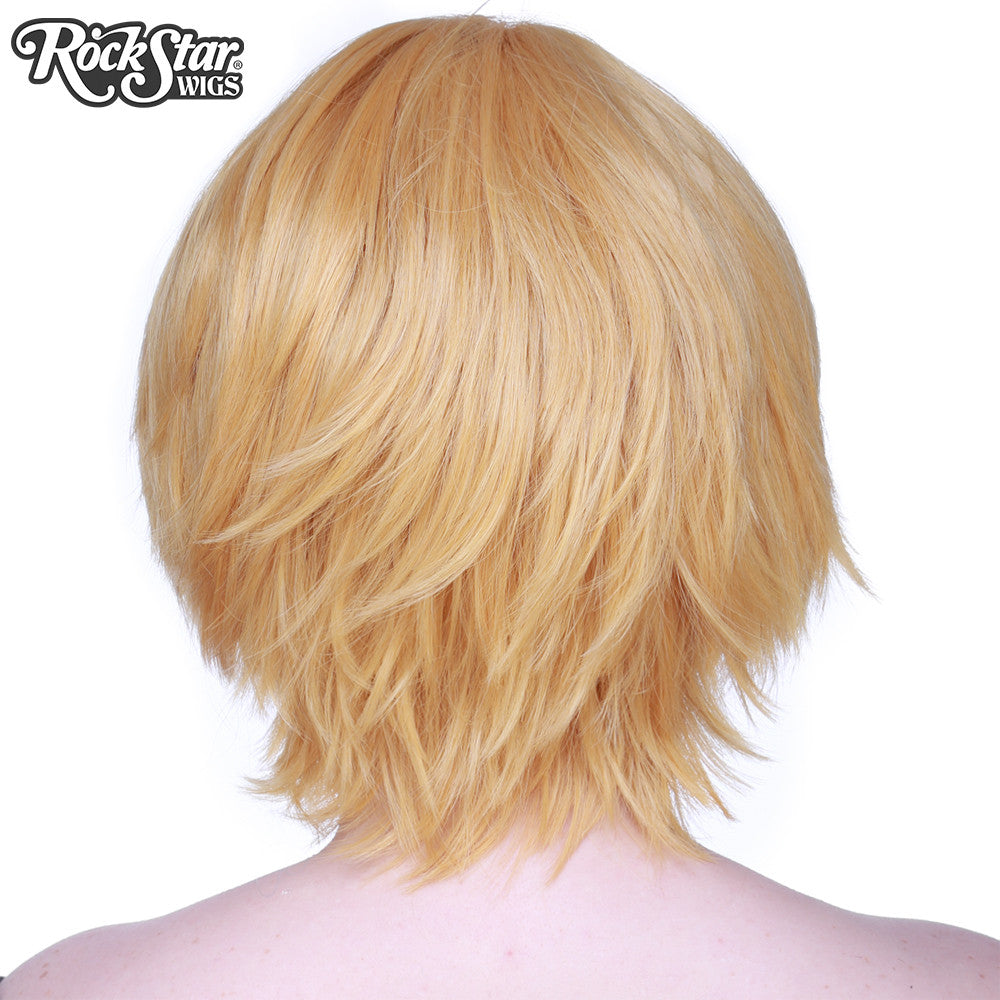 Cosplay Wigs USA™ <br> Boy Cut Short - Pale Blonde -00266