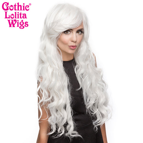 Gothic Lolita Wigs® <br> Classic Wavy Lolita™ Collection - White -00495