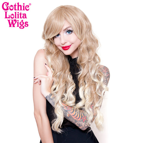 Gothic Lolita Wigs® <br> Classic Wavy Lolita™ Collection -Blonde Fade -00611