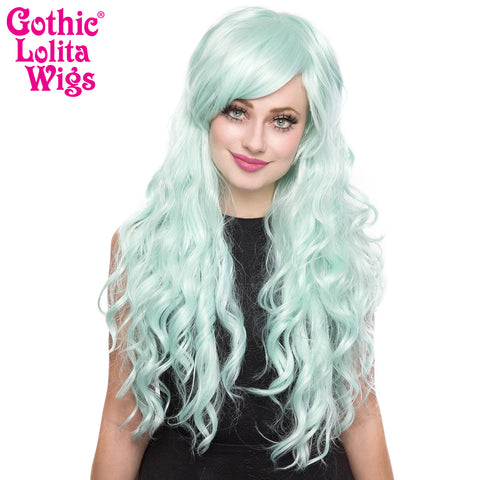 Gothic Lolita Wigs® <br> Classic Wavy Lolita™ Collection - Mint -00044