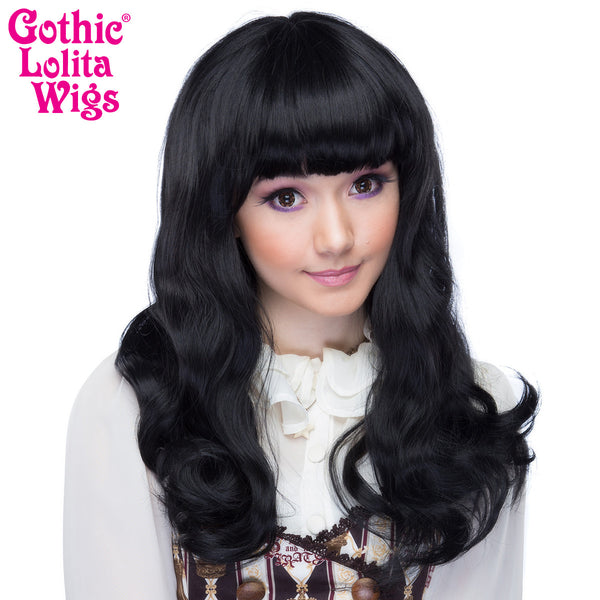 Gothic Lolita Wigs 174 Straight Classic Collection Black