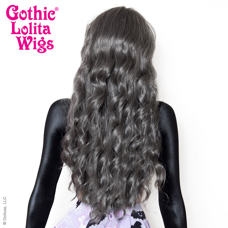 Gothic Lolita Wigs® <br> Classic Wavy Lolita™ Collection - Dark Grey Mix -00375