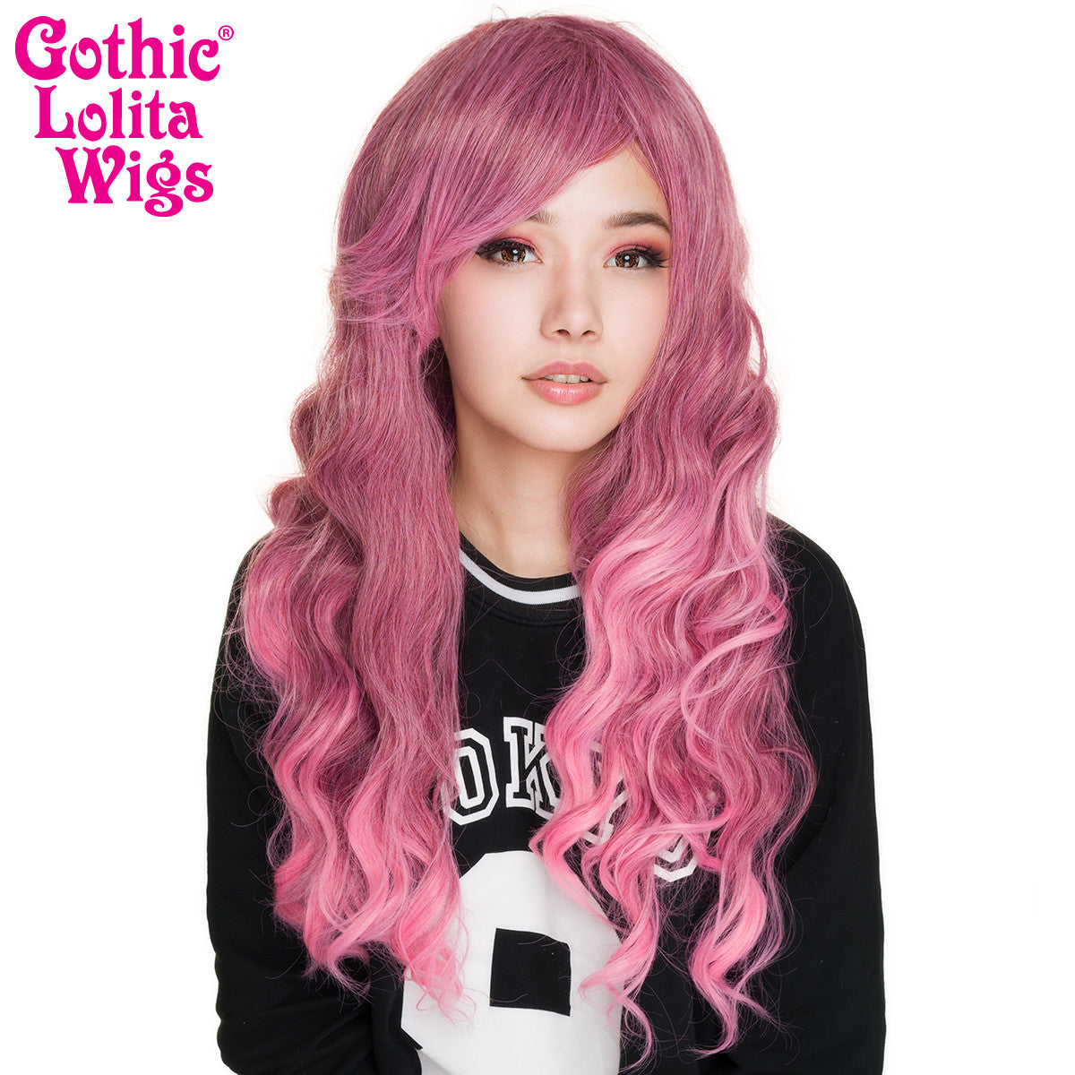 Gothic Lolita Wigs® <br> Classic Wavy Lolita™ Collection- Rose Fade -00610