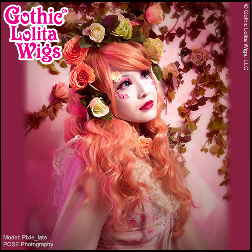 Shironuri Gothic Lolita Wigs Mermaid Cascade Gyaru Long Cheap Priced Inexpensive High Quality