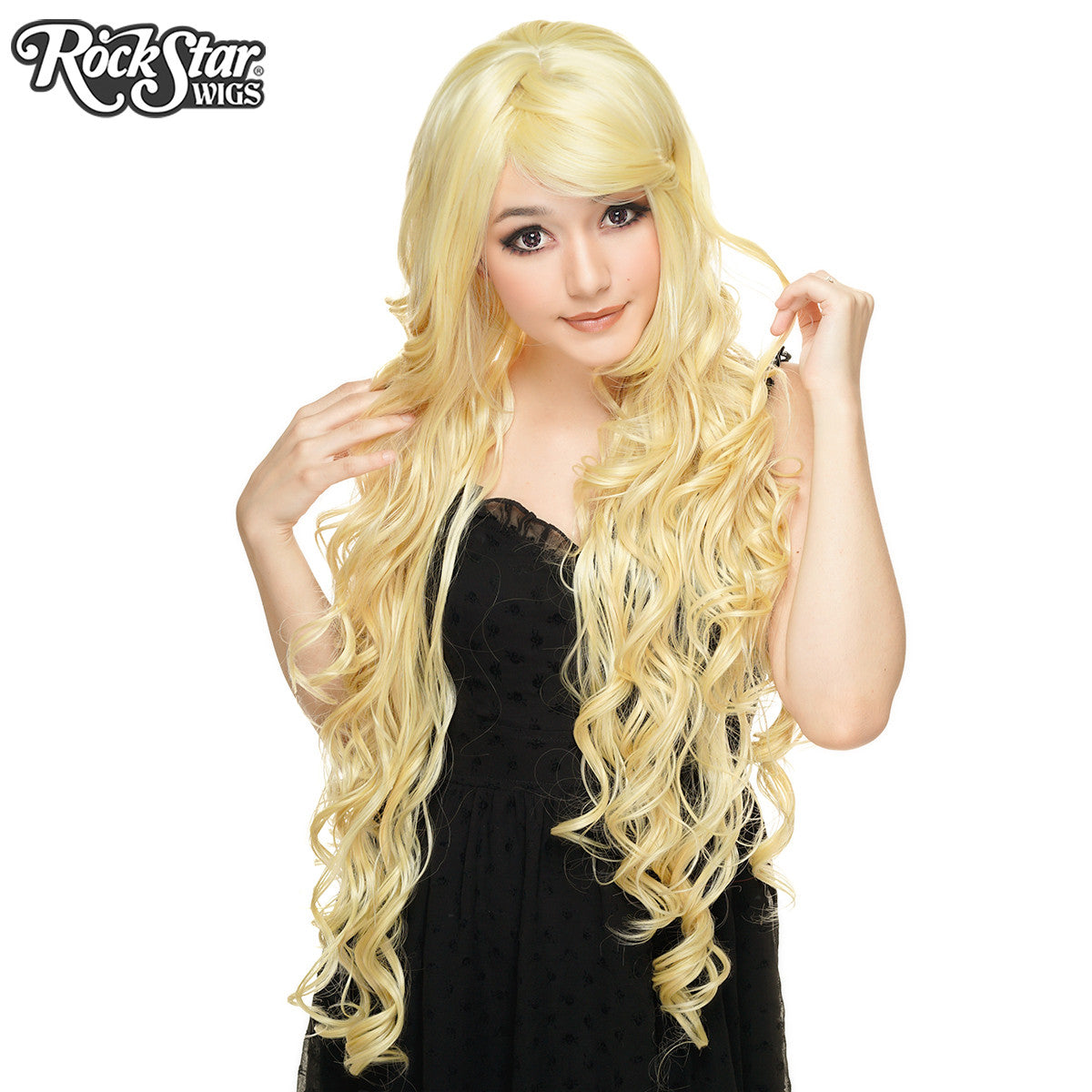 Cosplay Wigs Usa Curly 90cm 36 Quot Light Blonde 00326