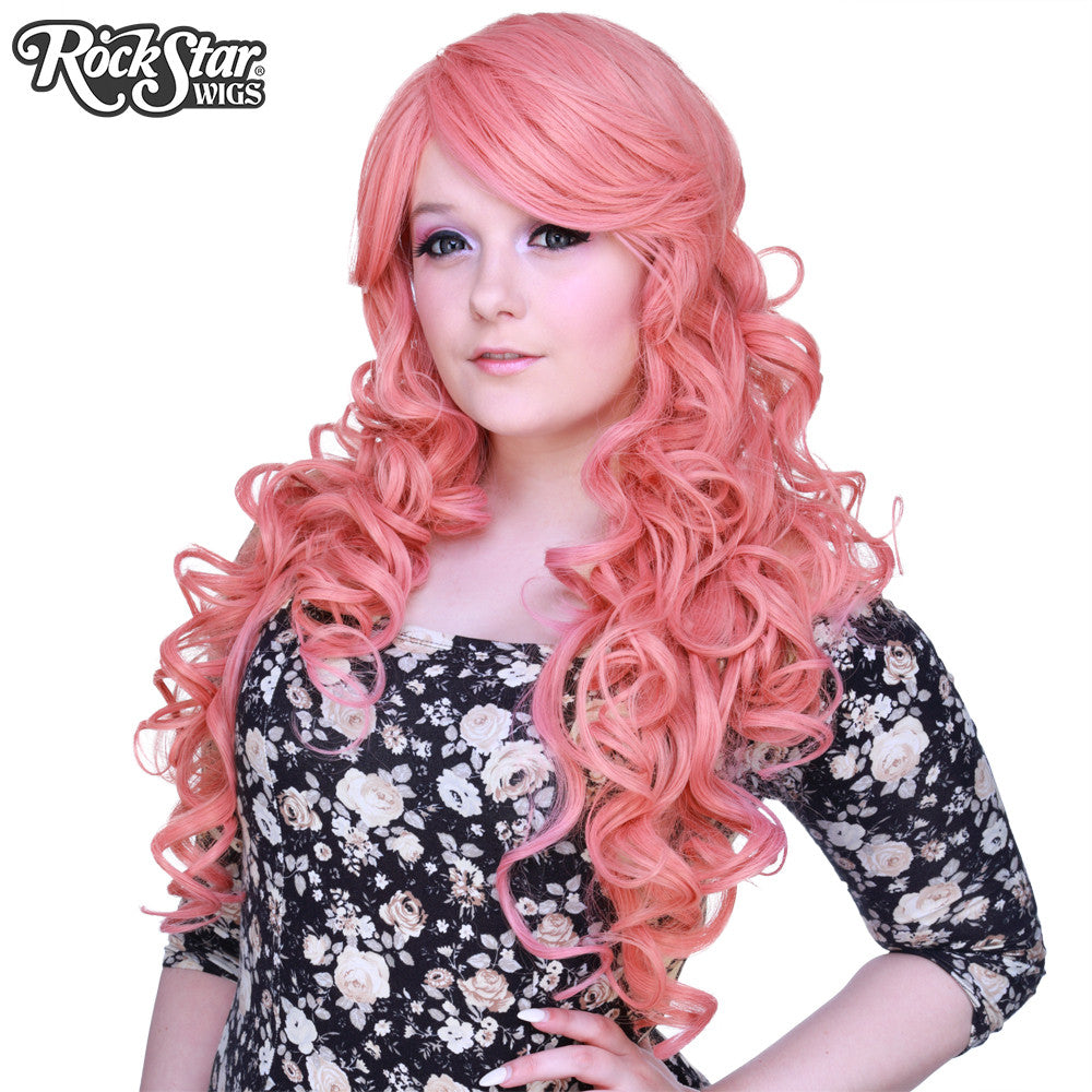 Cosplay Wigs Usa Curly 70cm 28 Quot Milkshake Pink 00308