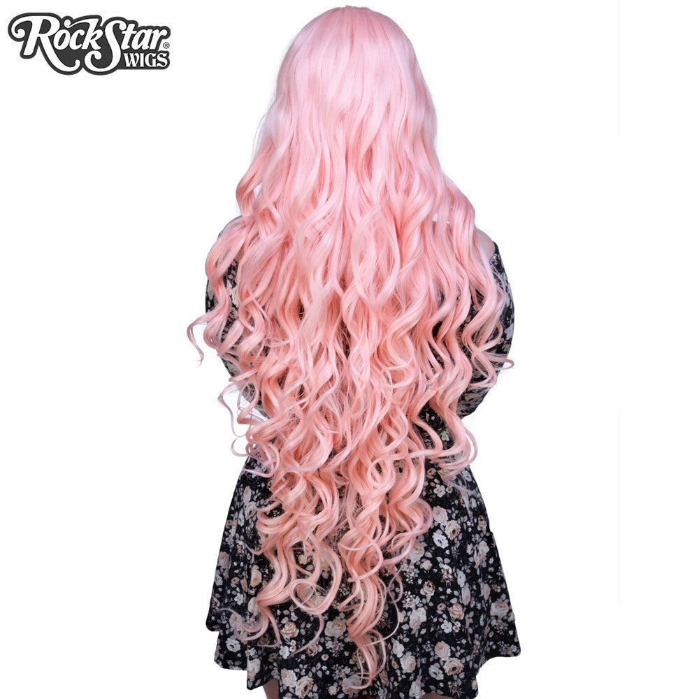"Cosplay Wigs USA™ <br> Curly 90cm/36"" - Light Pink -00328"