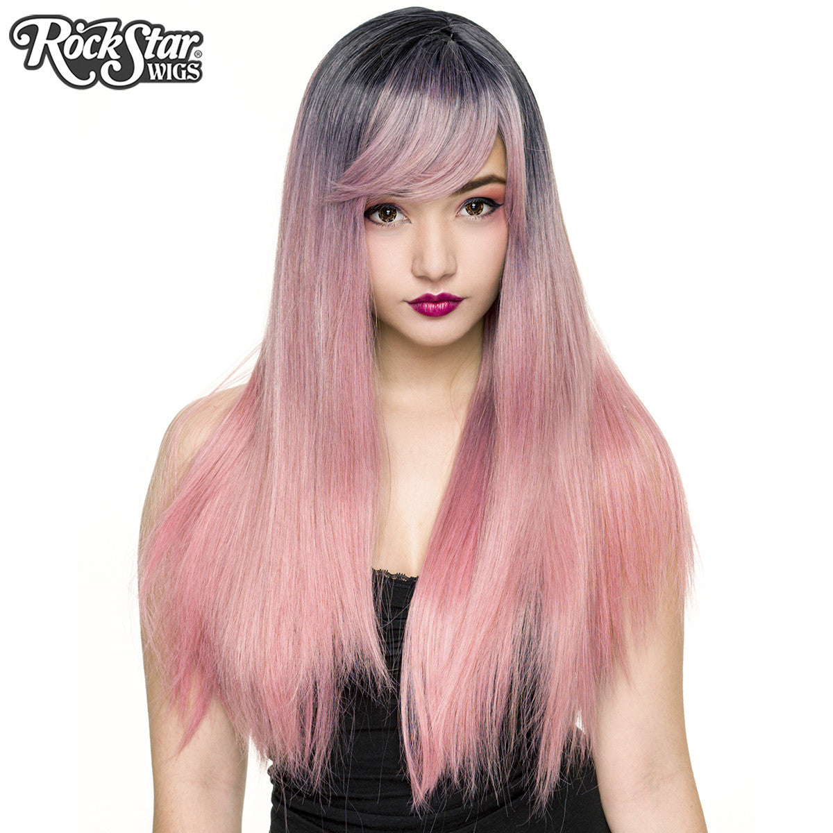 RockStar Wigs®  Bella Dark Root™ Collection - Milkshake Pink  -00824