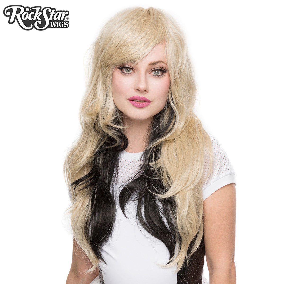 RockStar Wigs® <br> Downtown Girl™ Collection - Blonde & Black -00364