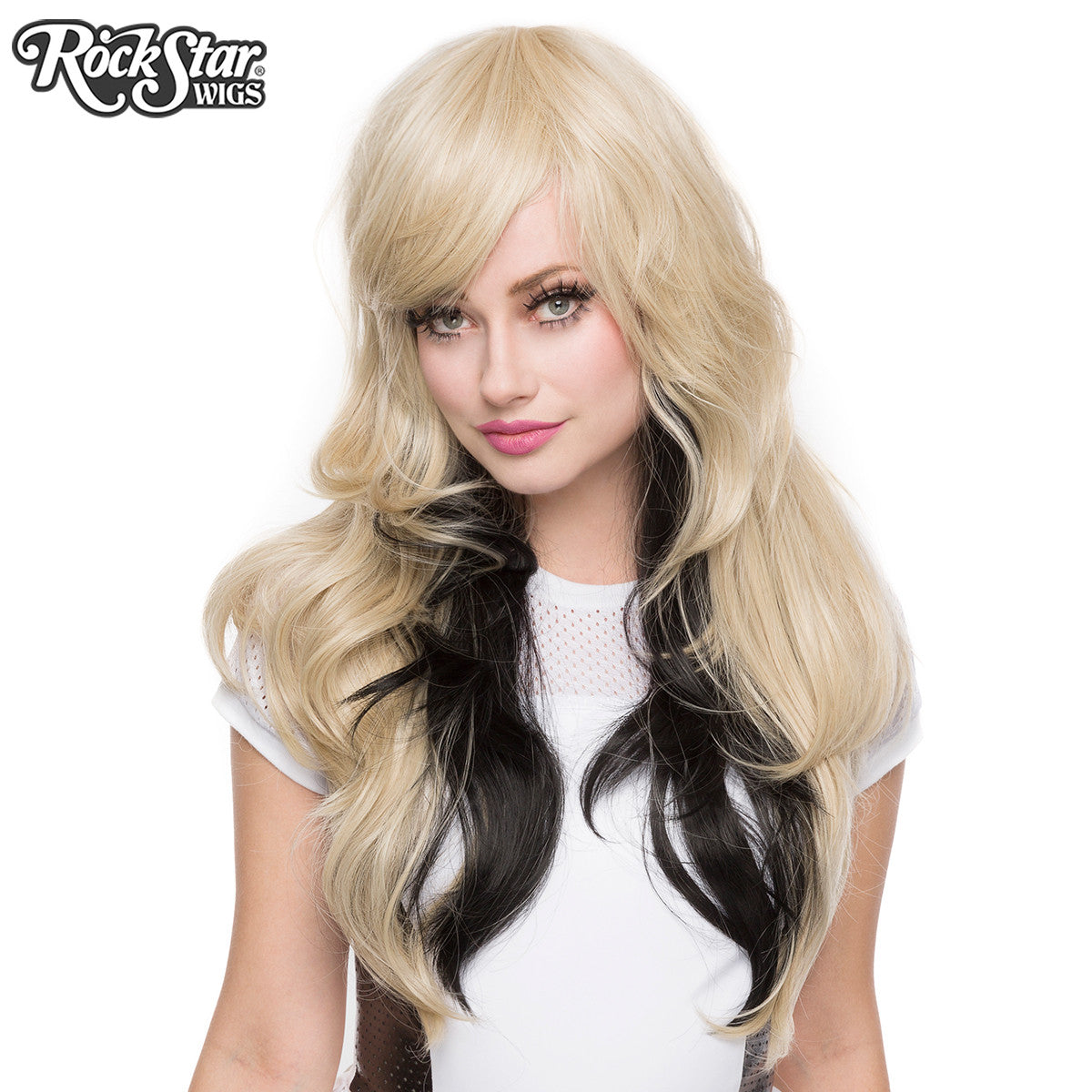 Rockstar Wigs 174 Downtown Girl Collection Blonde Amp Black