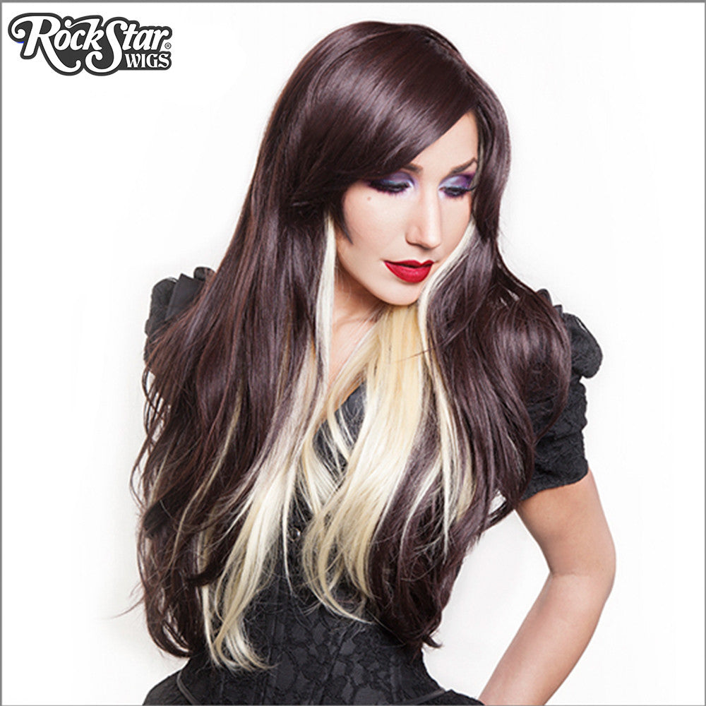 RockStar Wigs® <br> Downtown Girl™ Collection - Chocolate & Blonde -00366