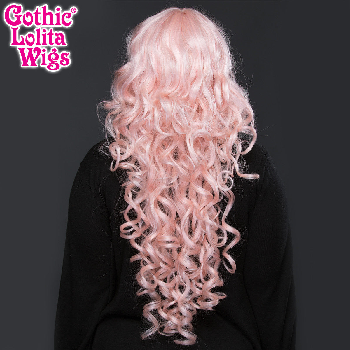 Gothic Lolita Wigs® <br> Duchess Elodie™ Collection - Powder Pink Mix -00058