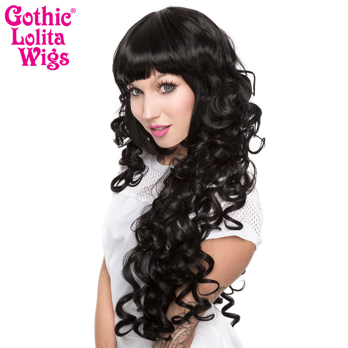 Gothic Lolita Wigs® <br> Duchess Elodie™ Collection - Black Mix -00050