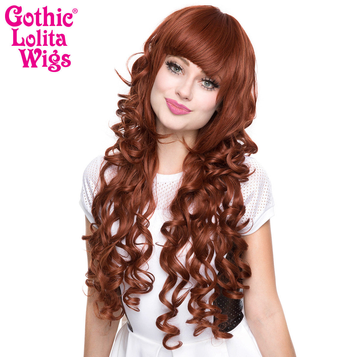 Gothic Lolita Wigs® <br> Duchess Elodie™ Collection - Auburn Mix -00048