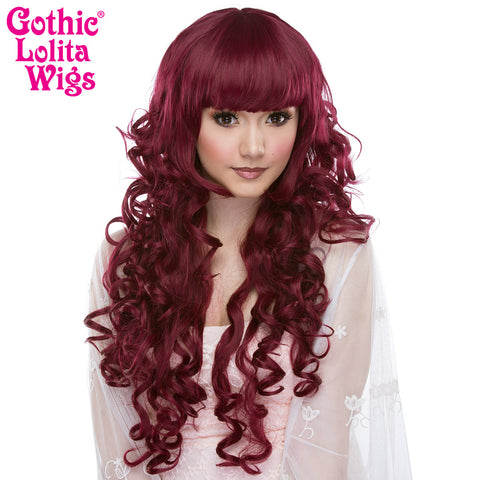 Gothic Lolita Wigs® <br> Duchess Elodie™ Collection - Burgundy Mix -00053