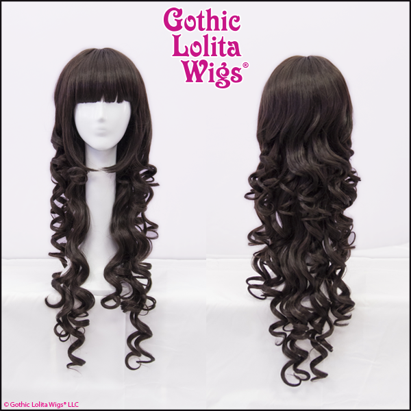 Gothic Lolita Wigs Duchess Elodie Dark Chocolate Brown Mix