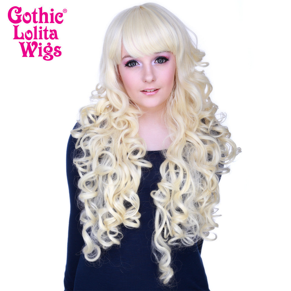 Gothic Lolita Wigs® <br> Duchess Elodie™ Collection - Platinum Blonde -00480