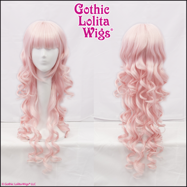 Gothic Lolita Wigs Duchess Elodie Collection Pink Bangs Fringe