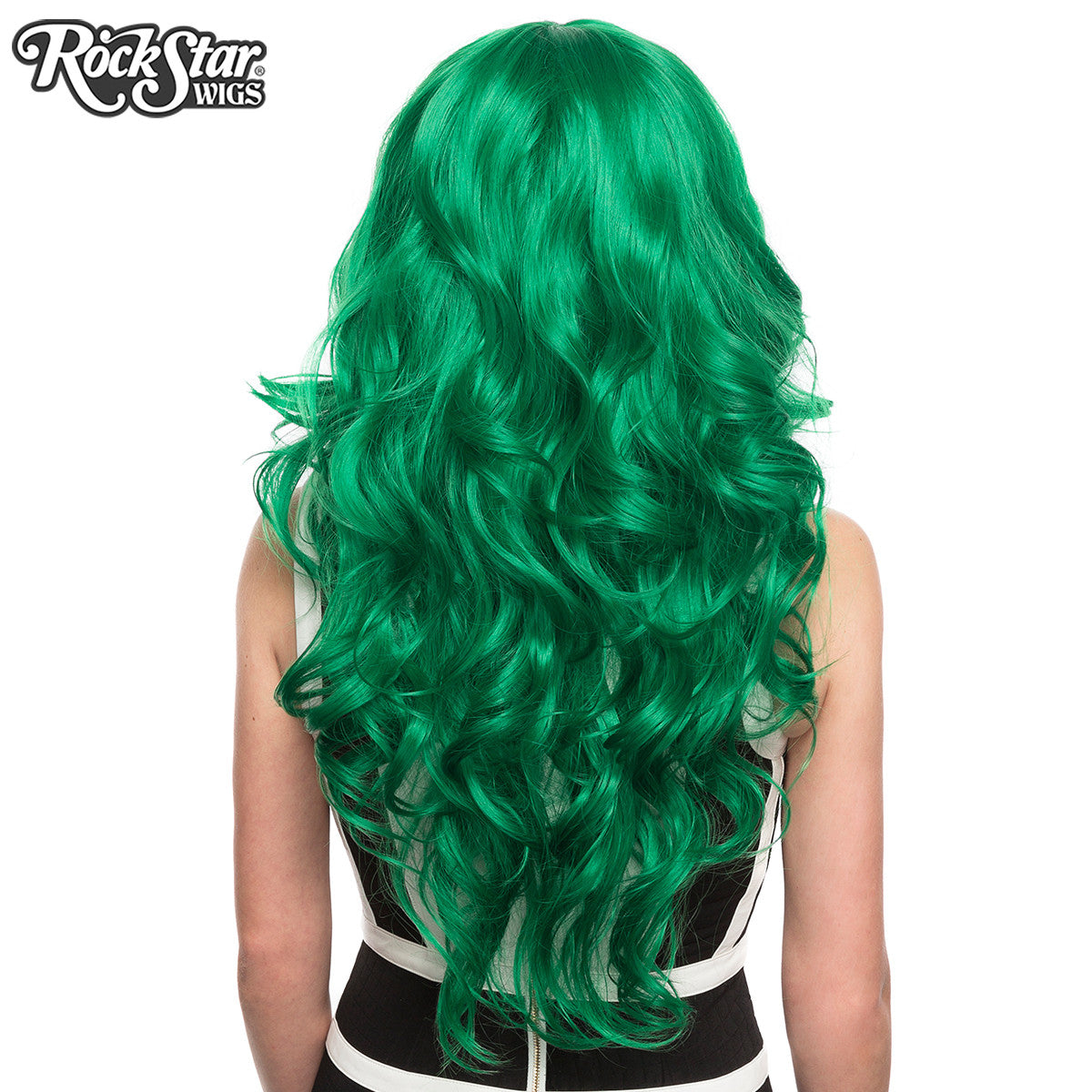RockStar Wigs® <br> Farrah™ Collection - Emerald Jade Green -00454