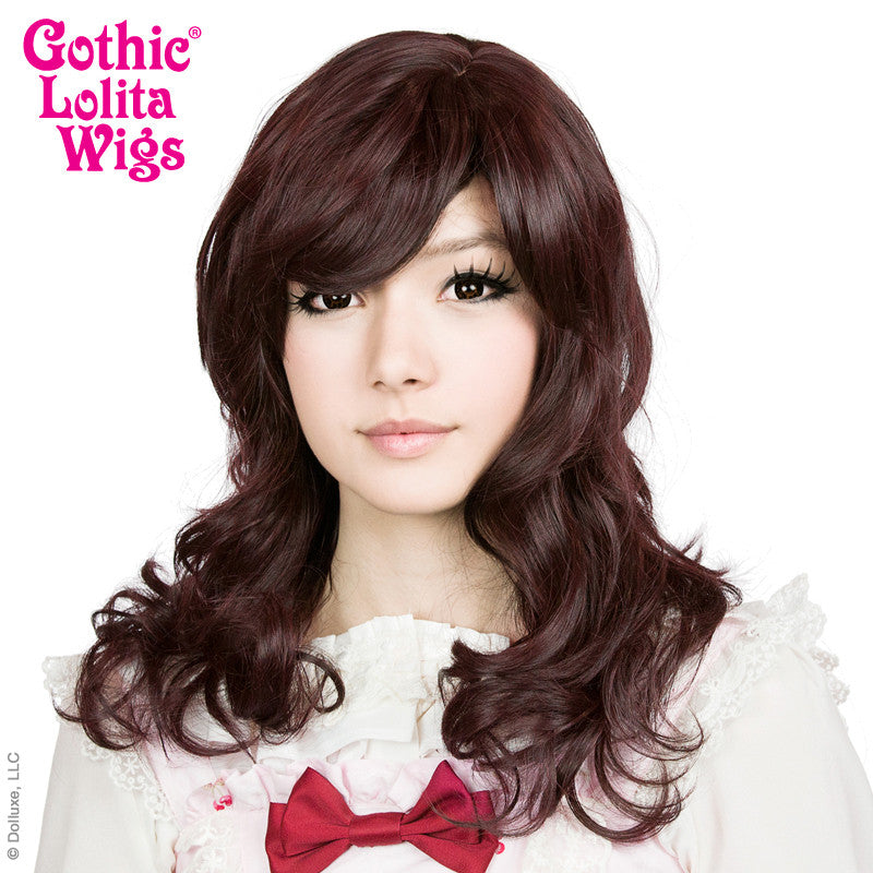 **Retired** Girly Girl Collection - Black Mahogany Burgundy Mix -00419