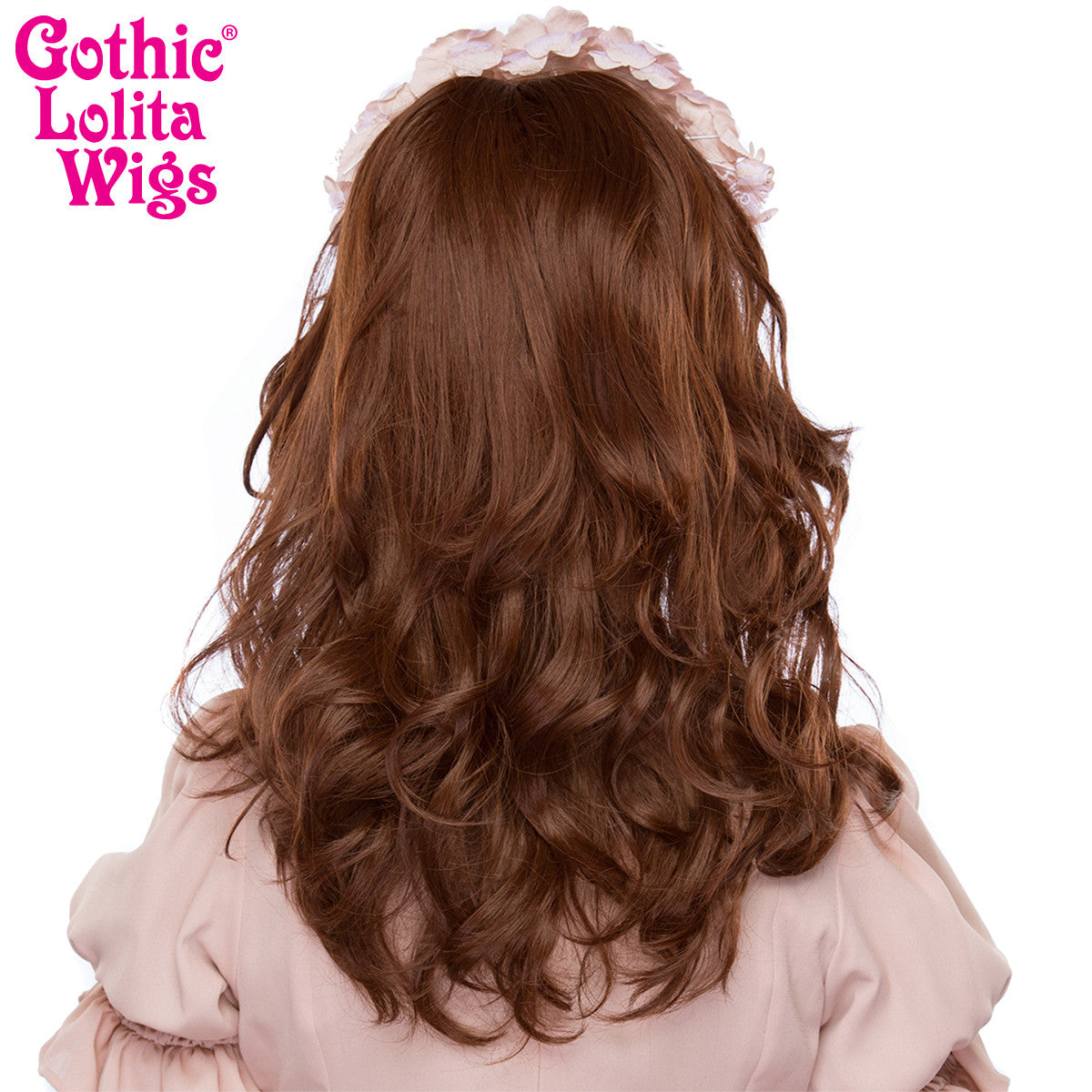 Gothic Lolita Wigs® <br>Girly Girl Collection - Chocolate Brown Mix -00418
