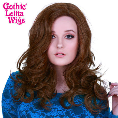 Lace Front Glamour Gal - Chestnut Brown Mix -00569
