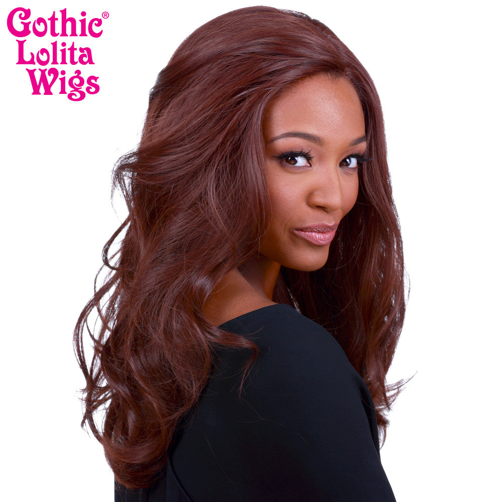 Lace Front Glamour Gal - Chocolate Brown Mix -00570